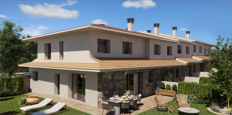 ext_003 casas adosadas Boltaña